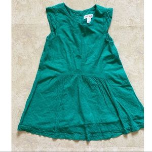 Cat and Jack 4T green dress. Gently used.